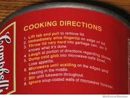 Funny Cooking Directions | WeKnowMemes via Relatably.com