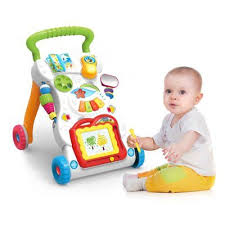<b>Baby Walker Multifunctional Toddler</b> Sit-to-Stand Walker with ...