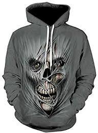 Unisex <b>Clothing Sweatshirts Skull hoodie sweater 3d</b> personality ...