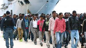 Image result for refugees to italy