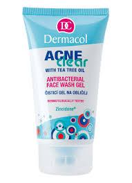ACNECLEAR ANTIBACTERIAL <b>FACE</b> WASH <b>GEL</b> • Dermacol ...