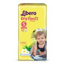 <b>Подгузники</b>-<b>трусики Libero Dry</b> Pants Size 5 (10-14кг), 32 шт ...