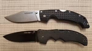 <b>Нож VOYAGER</b> Large <b>Cold Steel</b>. Обзор + сравнение с RECON I ...