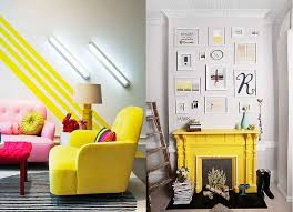 kissed bedroom yellow accents stand