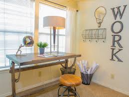 light shades on the walls budget friendly home offices
