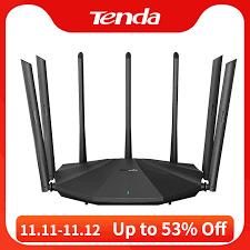 <b>Tenda AC23</b> AC2100 Router Gigabit 2.4G 5.0GHz Dual Band ...