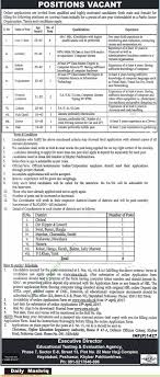 education testing evaluation agency peshawar jobs on 31 education testing evaluation agency peshawar jobs