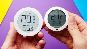 <b>Датчик</b> влажности и температуры <b>Xiaomi ClearGrass</b> с E-Ink ...
