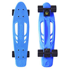 <b>Скейт Y-Scoo Skateboard Fishbone</b> 22 Blue-Black 405-B | www.gt ...