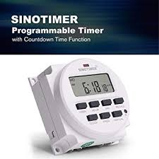 <b>SINOTIMER TM618N</b>-4 12V Programmable Timer Switch with ...