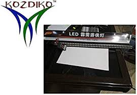 Kozdiko Knight Rider <b>Double</b> Layer 96 Led 8 <b>Color</b> with Remote for ...