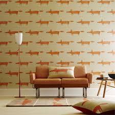 Orange Bedroom Wallpaper Top Scandi Wallpaper For Tween Bedrooms By Jen Stanbrook Back