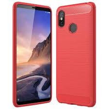 <b>ASLING Carbon Fiber TPU</b> Soft Back Cover Case for Xiaomi Mi Max ...