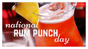 September 20th is National Rum Punch Day! | Foodimentary ...