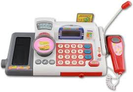Smartcraft Red <b>Cash</b> Register <b>Money</b> Banking <b>Pretend Play</b> ...