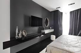 storage cute design ideas of home bedroom with white bedding sheets and rectangle shape wall mount tv beauteous living room wall unit