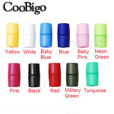 12pcs Plastic <b>Colorful</b> Breakaway Safety Pop Barrel <b>Connector</b> ...