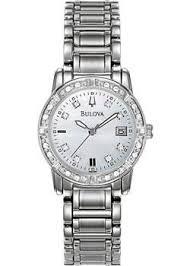 <b>Bulova Часы Bulova 96W105</b>. Коллекция Ladies Diamond ...