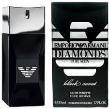 <b>Emporio Armani Diamonds</b> Black Carat for Him