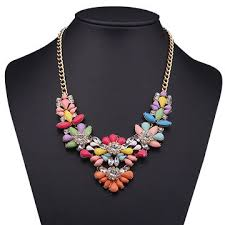 Hong Kong SAR <b>Bohemia Crystal</b> Statement Necklace Collar ...