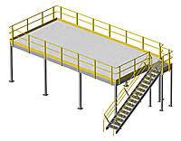 structural mezzanine 10h 32 2 x 15 bar grate mezzanine floor
