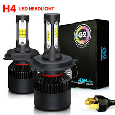 2x G2 9003 <b>H4</b> 8000LM 72W LED <b>CSP</b> Headlight Kit High/Low ...