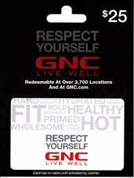 GNC $25 Gift Card, 1 ct - QFC