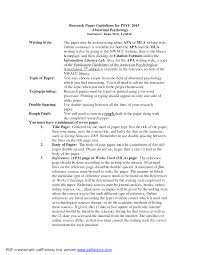 best photos of apa research paper examples  research paper apa  sample apa psychology research paper