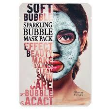 Кислородная <b>маска для лица</b>. <b>Chamos</b> Acaci Soft Bubble Sparkling ...