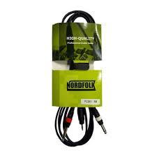 <b>NordFolk</b> YC001 3M купить по выгодной цене, шнур 2 х джека - 2 ...