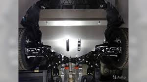 <b>Защита картера</b> (<b>алюминий</b>) <b>4</b> мм VW polo 2016- (TCC) купить в ...
