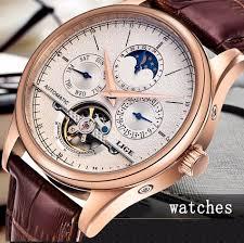 <b>LIGE</b> Brand Classic Mens Retro Watches <b>Automatic Mechanical</b> ...