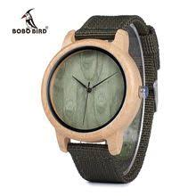 <b>Bobo Bird Men</b> Quartz Wood <b>Watches</b> Luminous Hands in Wooden ...
