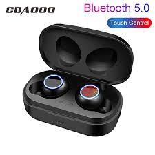 CBAOOO X118 TWS Bluetooth Earphones 5.0 <b>Mini Sport Wireless</b> ...