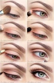 everyday look with a little colour touch eye make up tutorial