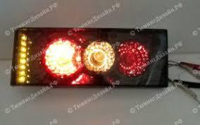 "<b>Задние фонари</b> ""BP"" (<b>диодные</b> поворотники, тонированные) для ..."