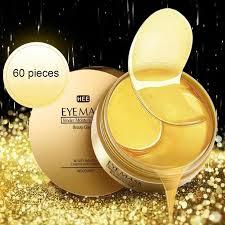 60 PCS Anti Aging <b>Gold</b>/<b>Seaweed Collagen Eye</b> Mask for <b>Eye</b> Care ...