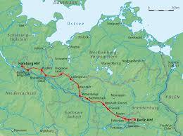 Ligne de Berlin à Hambourg