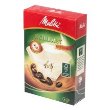 <b>Фильтры</b> бумажные <b>Melitta</b> для заваривания <b>кофе</b> 1х4/80 Гурмэ ...