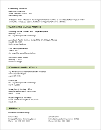 sample resume format for fresh graduates two page format sample resume format for fresh graduates two page format 1 2
