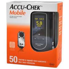 <b>Глюкометр Accu-Chek Mobile</b>, 1 шт., Рош Диагностика Рус ООО ...