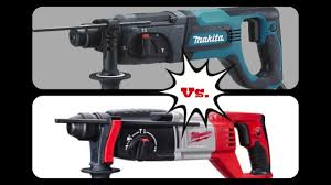 Taladros <b>SDS PLUS</b> Milwaukee Vs <b>Makita</b> - YouTube