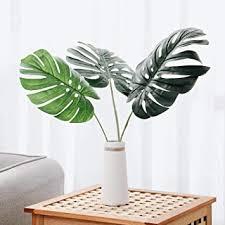 Olivachel <b>Artificial Leaves</b> Tropical Monstera <b>Leaves Palm</b> Tree <b>Leaf</b>