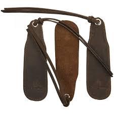 Leather Bookmark <b>Handmade</b> – <b>Genuine Leather</b> – Nabob Brands