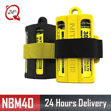 High Quality <b>Nitecore NBM40 Silicon case</b> holder Storage box ...
