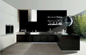 kitchen astonishing design modern cabinets doors black color wooden stainless steel countertop undermount sink wall mounted astounding home interior modern kitchen