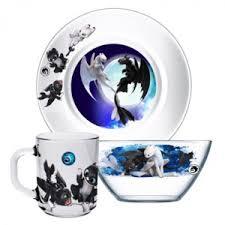 <b>Набор детской посуды ОСЗ</b> Disney Как приручить Дракона 3 ...