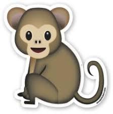 Resultado de imagen de emoticono mono