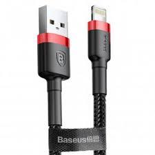 Кабель <b>Baseus Cafule Cable</b> USB - Lightning red+black 3m ...