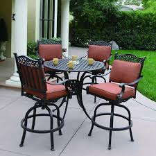 bar height patio chair: bar height patio set newsonair high quality bar height patio set   piece bar height patio set  x